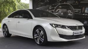 Peugeot 508  (Quelle: imago/Pacific Press Agency)