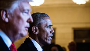 Barack Obama kritisiert Donald Trump scharf (Quelle: Reuters)