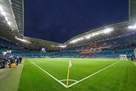 Die Red Bull Arena in Leipzig (42.959 Plätze). (Quelle: imago images/Action Pictures)