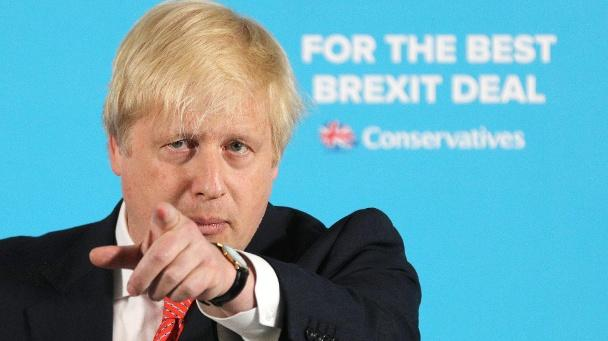 Ex-Außenminister Boris Johnson (Quelle: Owen Humphreys/Press Association/dpa)