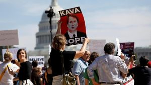 Tausende demonstrieren in Washington gegen Kavanaugh