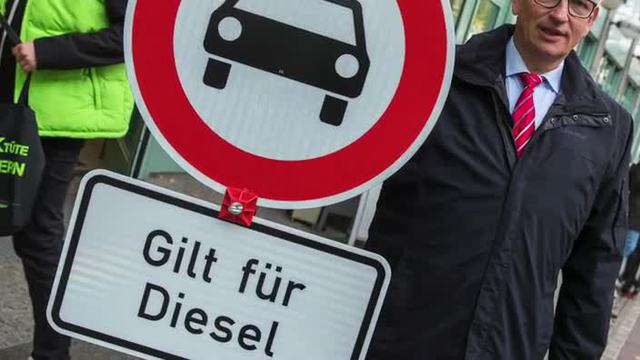 Diesel-Fahrverbote jetzt auch in Berlin (Screenshot: dpa)