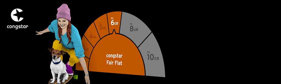 Die CONGSTAR Fair Flat