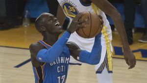 NBA Golden State Warriors Oklahoma City Thunder Oklahoma City Thunder guard Dennis Schröder 17