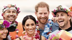 Meghan und Prinz Harry in Sydney am Bondi Beach