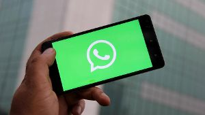July 20 2018 Unspecified UNSPECIFIED A Logo of WhatsApp is seen on a phone WhatsApp to take i