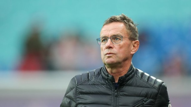 Europa League: Leipziger Beton-Abwehr in Glasgow gefordert. Leipzigs Trainer und Sportdirektor Ralf Rangnick.