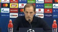 PSG-Trainer Thomas Tuchel über drohendes Aus in der Champions League (Screenshot: Omnisport)