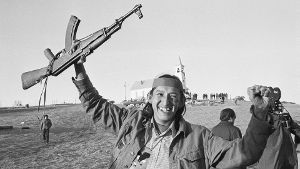 1973: Aufstand in Wounded Knee (Quelle: Getty Images/Bettmann Archive)