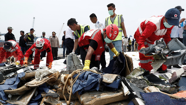 Absturzursache von Lion-Air-Flieger in Indonesien geklärt (Quelle: Reuters)