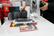Verkaufsstart der Nintendo Switch in Japan (Quelle: imago images/AFLO)