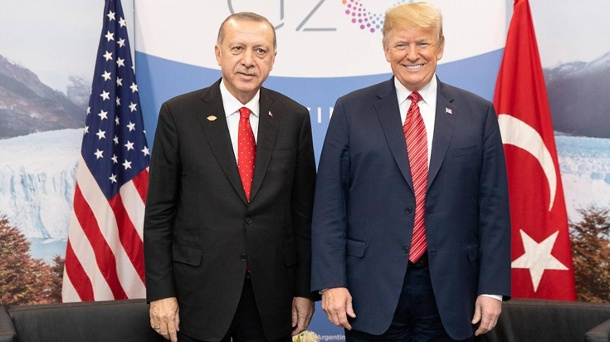 President Donald J Trump participates in a bilateral meeting with President Recep Tayyip Erdogan of (Quelle: imago images)