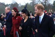William, Kate, Meghan und Harry: Liebevoll auch die Fab4 genannt. (Quelle: Stephen Pond/Getty Images)