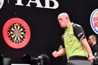 Michael van Gerwen. Spitzname: Mighty Mike.  (Quelle: imago images/Action Plus)