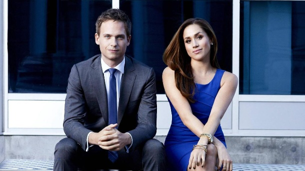 Patrick J. Adams and Meghan Markle: I