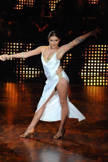 "Sophia Thomalla bei ""Let's Dance"" (Quelle: imago images/APress)"
