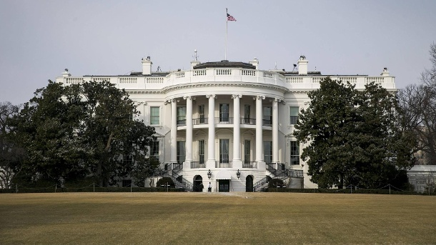 Mit Waffen vom FBI: 21-Jähriger aus Atlanta plante Attentat aufs Weiße Haus. The White House as U S President Donald Trump travels to the U S Capitol for a congressional Gold (Quelle: imago)