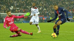 January 19 2019 Paris Ile de France France Paris SG Forward KYLIAN MBAPPE score the second go