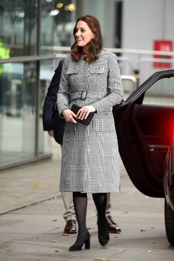 "6. Dezember 2017: Besuch am Set der Show ""Stepping Out"" in Manchester. (Quelle: Chris Jackson/Getty Images)"
