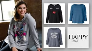 Sweatshirts bei happy-size.de
