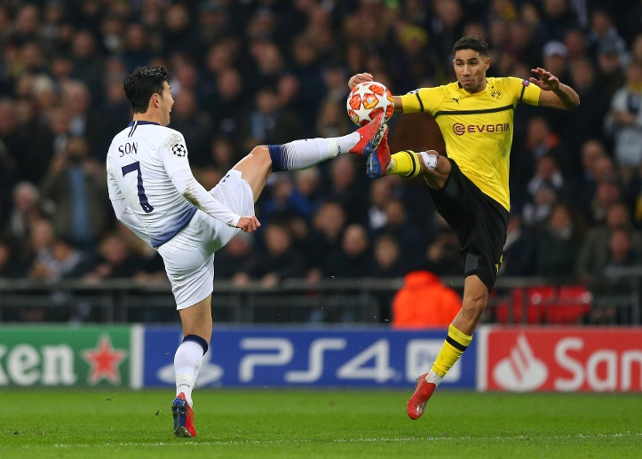Achraf Hakimi: Note 5 (Quelle: imago images/Action Plus)