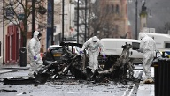 Autobombe im Januar 2019 in Londonderry. (Quelle: Charles McQuillan/Getty Images)