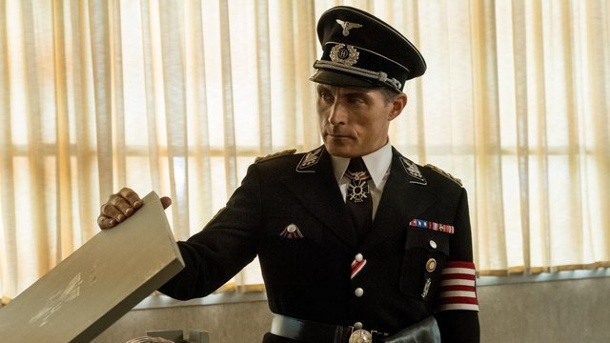 "Letzte Staffel im Herbst: Schluss mit ""The Man in The High Castle"". Rufus Sewell als Obergruppenführer John Smith in der Serie ""The Man In The High Castle""."
