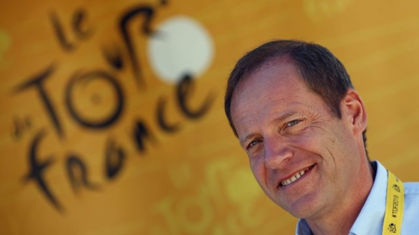 Traditions-Rundfahrt: Tour de France 2021 startet in Kopenhagen. Christian Prudhomme ist Direktor der Tour de France.