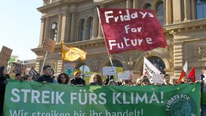Demonstration 'Fridays for Future'