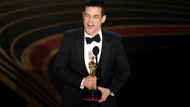 Rami Malek ist bester Hauptdarsteller. (Quelle: Kevin Winter/Getty Images)
