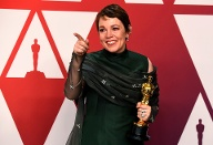 "Beste Hauptdarstellerin: Olivia Colman gewann den Oscar für ihre Rolle in ""The Favourite"". (Quelle: Frazer Harrison/Getty Images)"