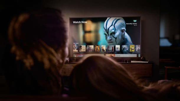 Apple startet Streamingdienst – Konkurrenz für Netflix und Amazon . Streamingbox Apple-TV: Neuer Streamindienst geplant (Quelle: dpa)