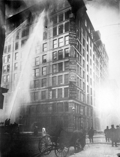 25. März 1911: Feuerkatastrophe in New York (Quelle: imago/UPI Photo)