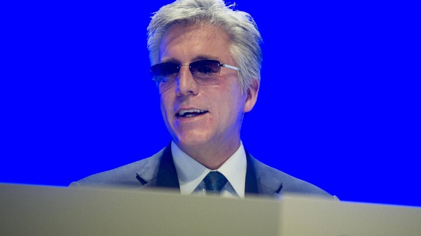 Bill McDermott: Der SAP <DE0007164600>-Chef verdiente 10,2 Mio. Euro. (Quelle: imago images/Sven Simon)