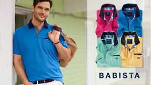 Poloshirts für stilvolle Herren bei BABISTA.de