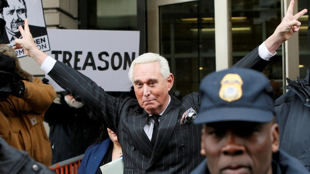 Roger Stone (Quelle: Reuters/Jim Bourg)