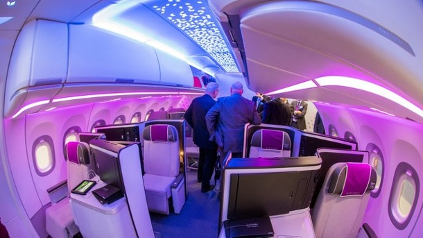 Fachmesse Aircraft Interiors Expo zeigt Zukunft des Fliegens. Aircraft Interiors Expo