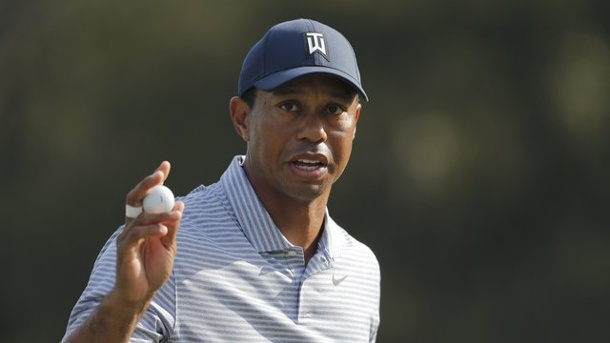 "Golf-Major - 83. Masters in Augusta: Die Favoriten auf das ""Green Jacket"". Hat den fünften Masters-Sieg in Augusta im Blick: Golf-Superstar Tiger Woods."