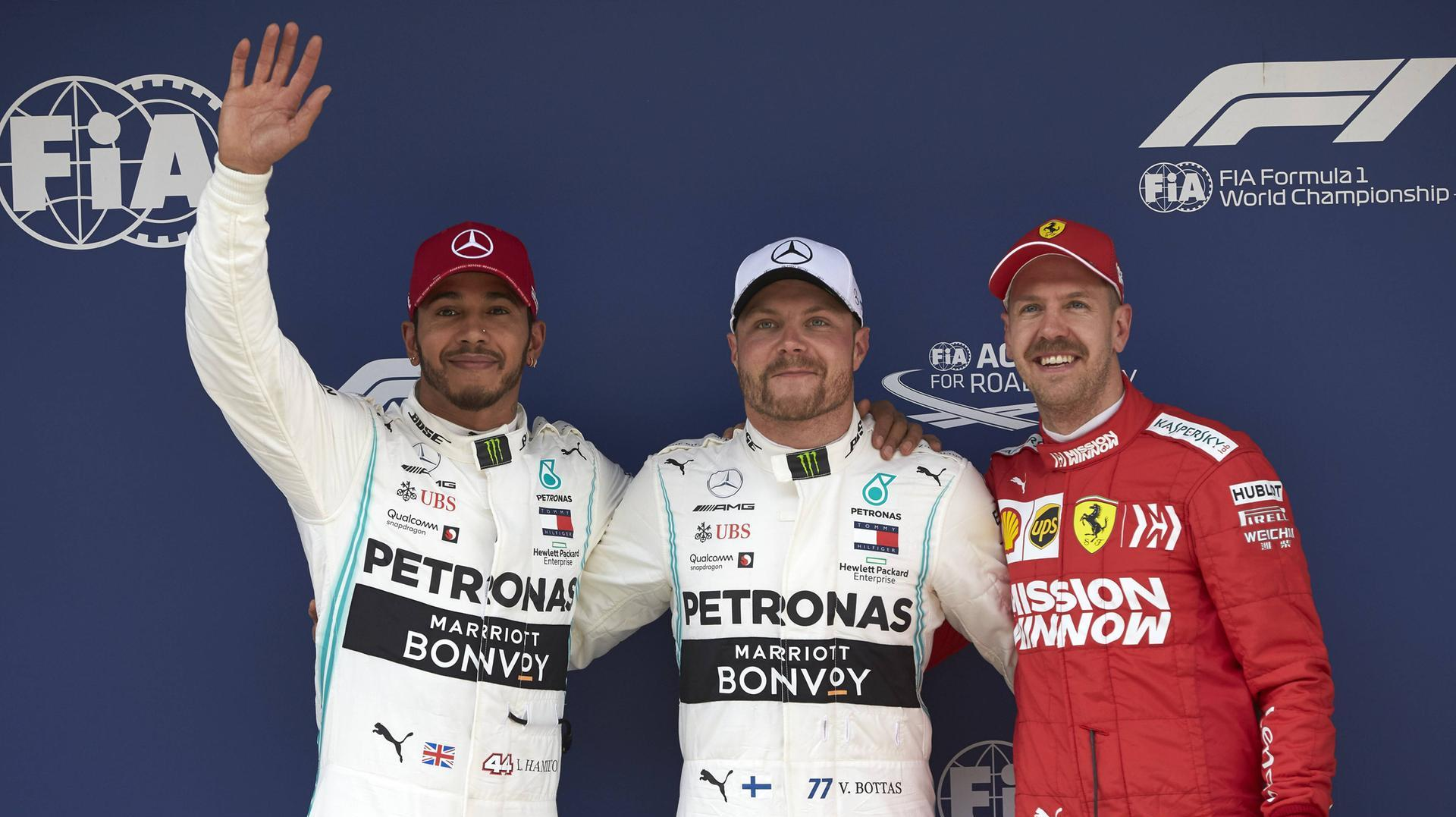 GP von China: Rennen im Live-Ticker. Mercedes-Pilot Valtteri Bottas sicherte sich im Qualifying in China die 1000. Pole  (Quelle: )