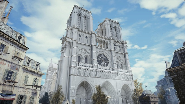 """Die Notre-Dame in """"Assassin's Creed Unity"""". (Quelle: Ubisoft)"""