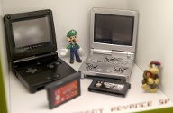Video game console s Museum in Poland Game Boy Advance SP at Video game console s Museum on August 1 (Quelle: imago images)
