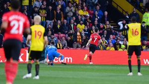 FOOTBALL 2018 2019 Premier League Watford vs Southampton Southampton s Shane Long scores the o
