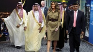 """Melania Trump im """"All Women BPS & IT Centre"""" in Riad (Quelle: Reuters/Hamad I Mohammed)"""