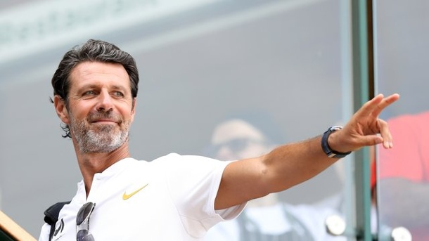 Deutsches Tennis-Ass: Williams-Coach Mouratoglou sieht Zverev am Scheideweg. Coach von Serena Williams: Patrick Mouratoglou.