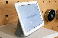 Google Nest Hub Max (Quelle: AP/dpa/Richard Drew)