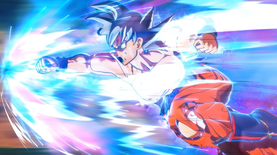 "Attacke! Freunde des Dragon-Ball-Franchises könnte ""Super Dragon Ball Heroes: World Mission"" gefallen. (Quelle: dpa/Bandai Namco)"