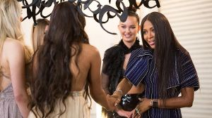 Supermodel Naomi Campbell bei 'Germany's next Topmodel'