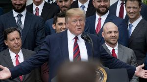 May 9 2019 Washington District of Columbia United States President DONALD TRUMP Welcomes the
