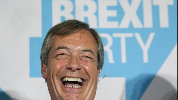 Nigel Farage. (Quelle: imago images/PA Images)