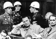 GERMANY Reichsmarschall Hermann Göring C and Hitler s deputy leader Rudolf Hess R during their (Quelle: imago images/ITAR-TASS)